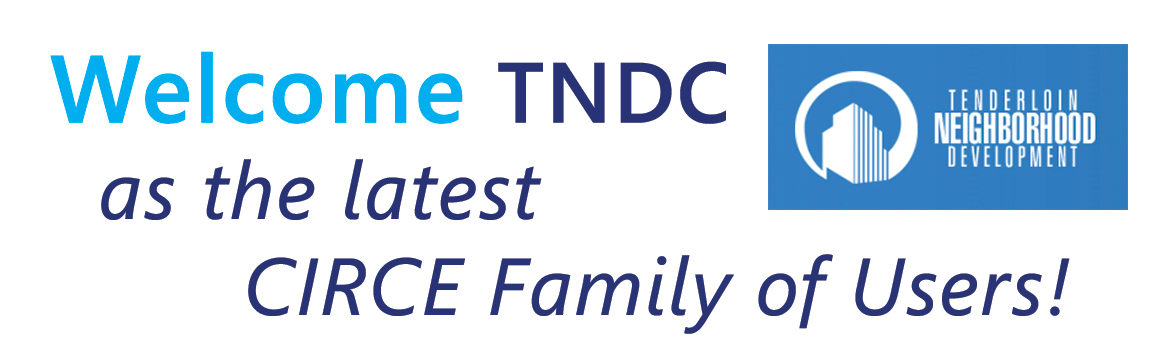 Welcome TNDC as the latest CIRCE family of users!