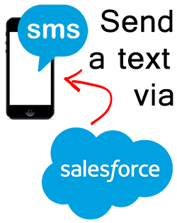 Send a text to one or multiple recipients directly from Salesforce.