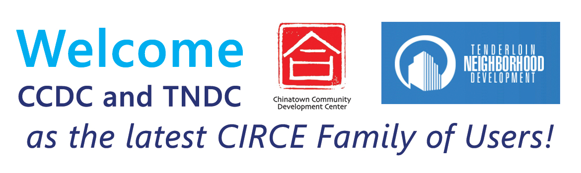 Welcome CCDC and TNDC as the latest CIRCE family of users!